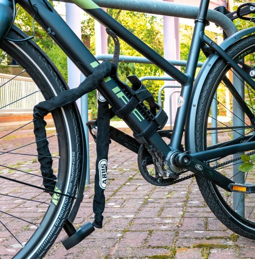 afgesloten fiets